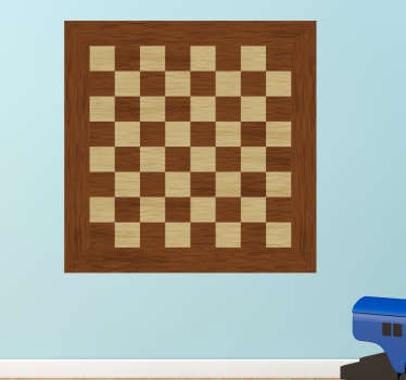Decorate your wall with a chess board thanks to this magnificent sticker! Available in 50 colours.