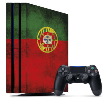 Are you a fan of Ronaldo and his mates? This fantastic ps4 sticker portugal does it your way. You can choose any size you like.