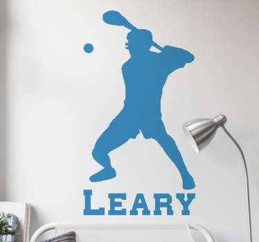 If you are a hurling player then this sports sticker is perfect for you. Decorate your home showing your passion for this sport!