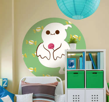 Add a fun ghost to the wall of your child´s bedroom with this superbly playful and stylish wall art sticker! Sign up for 10% off.