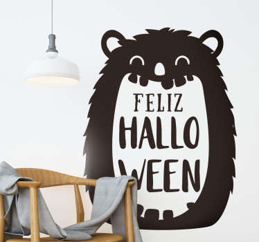 Pegatina Halloween fiesta de Halloween