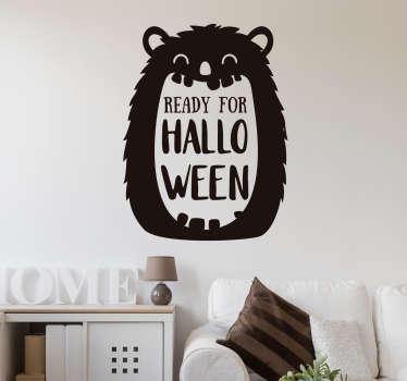 Ready for Halloween Wall Sticker