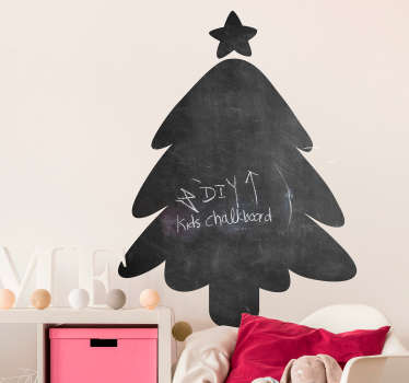 Christmas Chalkboard Sticker