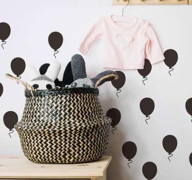 Autocolantes decorativos de brinquedos balões