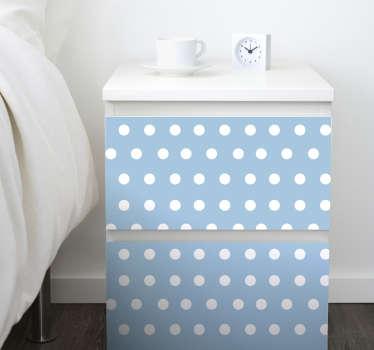 Polka Dot Furniture Decal