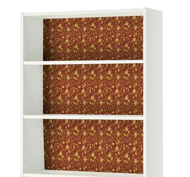 Slaapkamer muursticker barok patroon