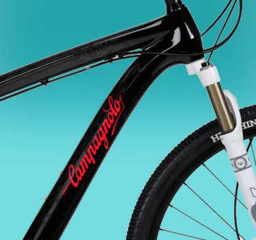 Vinilo bicicleta logo Campagnolo
