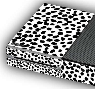 Autocolantes ornamentais padrão de jaguar