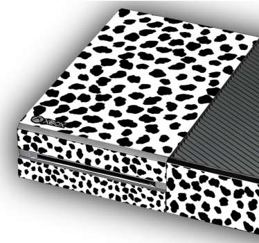 Naklejka na Xbox tekstura jaguara
