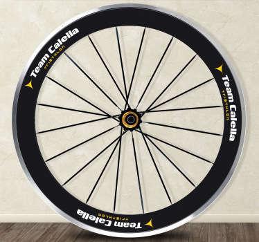 Sticker per bici Team Calella Logo
