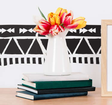 Decorate your home with this brilliant Aztec themed sticker! Sign up for 10% off.