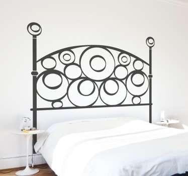 Stickers voor het hoofdeinde van het bed in slaapkamer - TenStickers