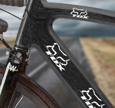 Vinilo bicicleta logo Fox Racing
