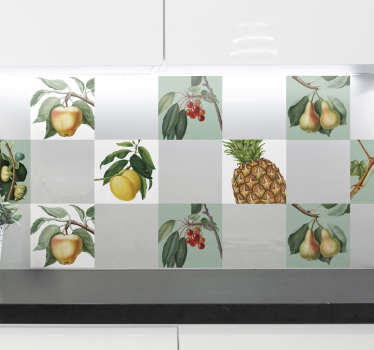Growing Fruit Wall Sticker