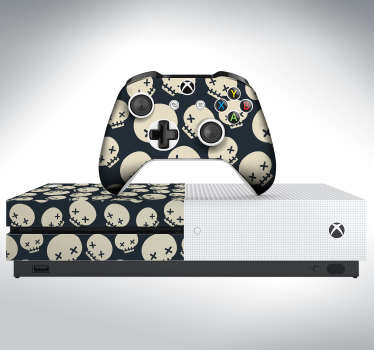 Skeletons Xbox Skin Sticker
