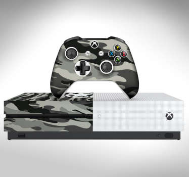 Camouflage Style Xbox Skin Sticker