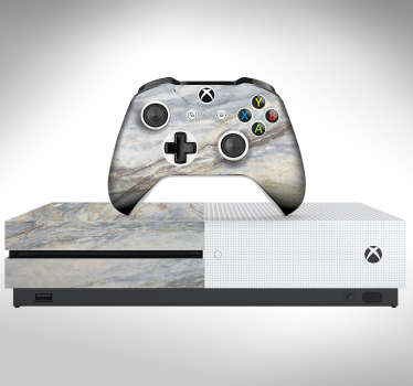 Marble Effect Xbox Skin Sticker