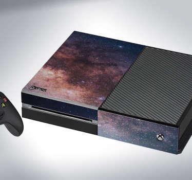 Naklejka na Xbox kosmos