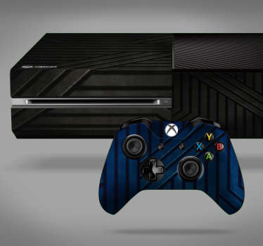 Add a metallic touch to your Xbox with this fantastic Xbox skin sticker! Sign up for 10% off.