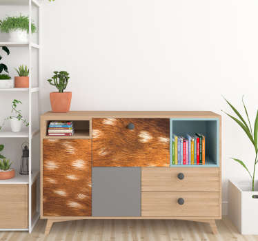 Deer Skin Furniture Sticker