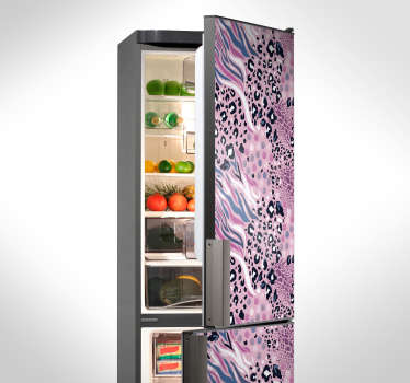 Animal Print Fridge Sticker
