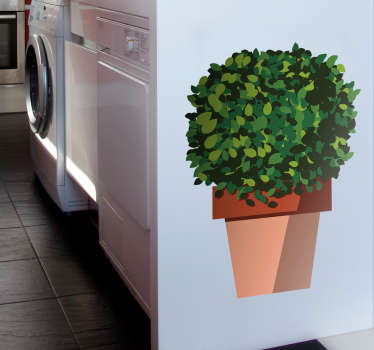 Add a plant to your home without the hassle of keeping it alive thanks to this fantastic wall sticker! Extremely long-lasting material.