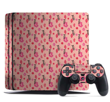 Kisses PS4 Skin Sticker