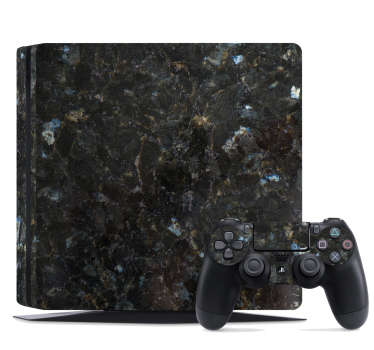 Dark Marble PS4 Skin Sticker