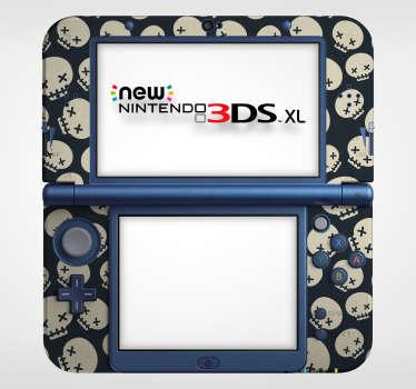 Sticker Texture Têtes de Mort Nintendo