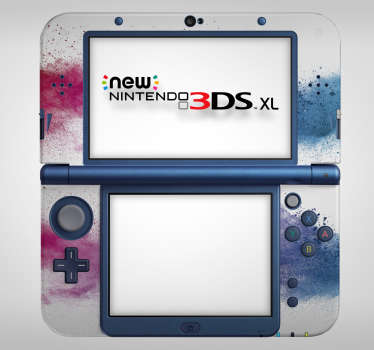 Colour Wave Nintendo Skin Sticker