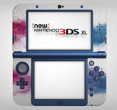 Sticker Abstrait Éclaboussures pour Nintendo
