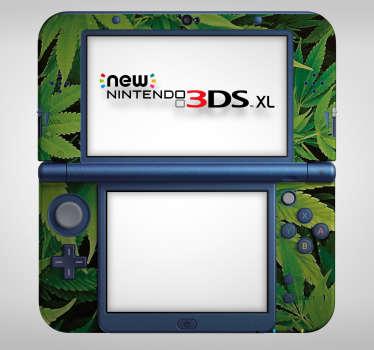 Sticker Plante Marihuana pour Nintendo