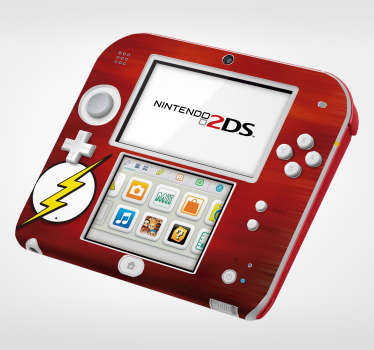 The Flash Nintendo Sticker
