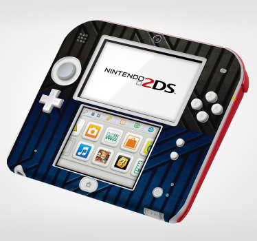 Sticker Decor Texture Métalique pour Nintendo