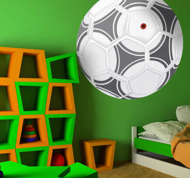 Autocolante decorativo bola de futebol Adidas