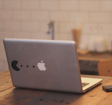 Naklejka na laptopa Pacman