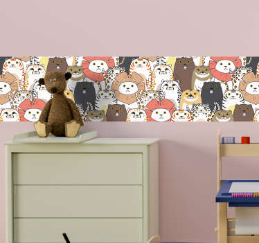 Animal Collection Wall Sticker