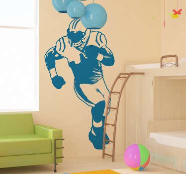 Wabdtattoo Kinderzimmer Football