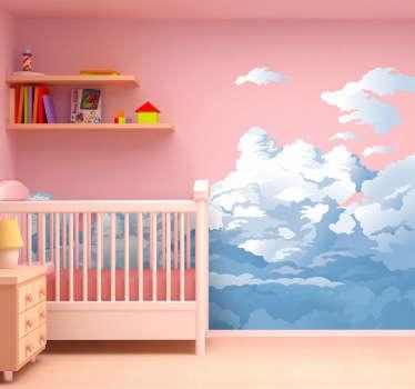 Cloudy Sky Wall Sticker