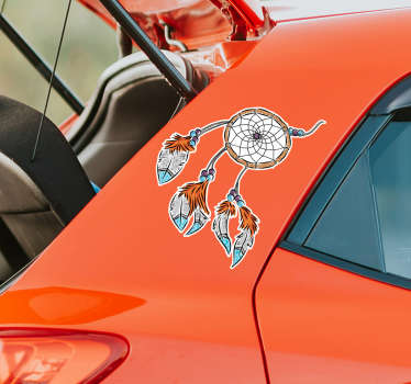 Autocolantes de objetos espanta espiritos carro