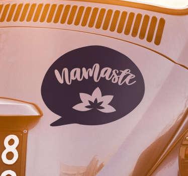 Sticker pour Pro Namaste