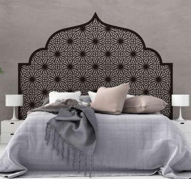 Vinil ornamental arabe geometrico monocolor