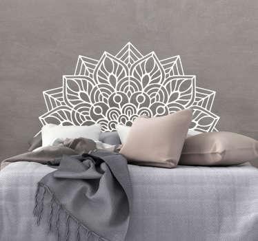 Sticker Maison Mandala Yoga
