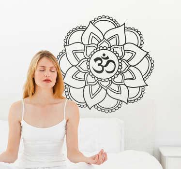 Sticker Original Mandala Yoga Shala