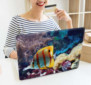 Great Barrier Reef Laptop Sticker