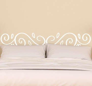 Headboards- Original and distinctive decoration feature above your bed. Interlocking modern design with multiple strokes.