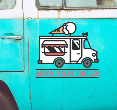 Mind that Child Vehicle Sticker