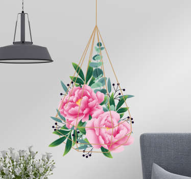 Eucalyptus Floral Living Room Wall Decor