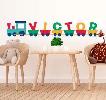 Sticker Chambre Enfant Texte Prénom