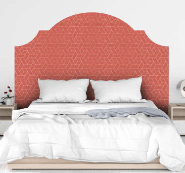 Vinilo pared Living Coral Minimalista